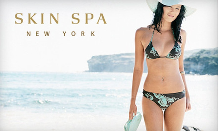 Skin Spa - Multiple Locations: One or Three Women's Brazilian Bikini Waxes, or $40 for $100 Worth of Waxing Services at The Skin Spa