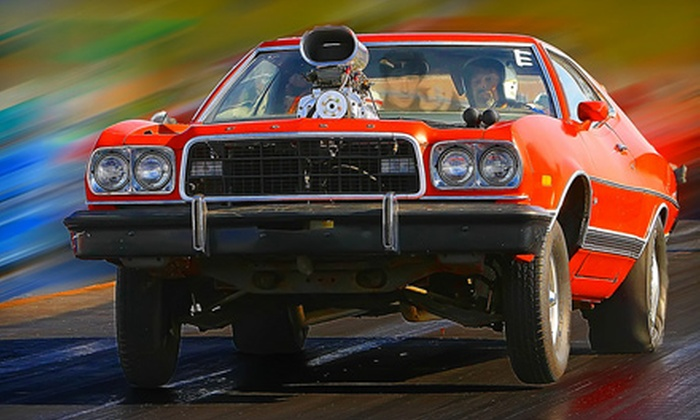 North Star Dragway - Denton: Drag-Race Outing for Two or Four at North Star Dragway in Denton