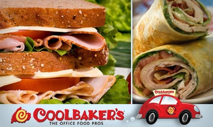 Coolbaker's - West End: $20 for Five Lunch Boxes Delivered to Your Office from Coolbaker's (Up to $53.90 Value)