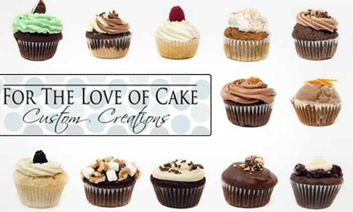 For the Love of Cake - Liberty Village: $7 for Six Cupcakes from For the Love of Cake ($16 Value)