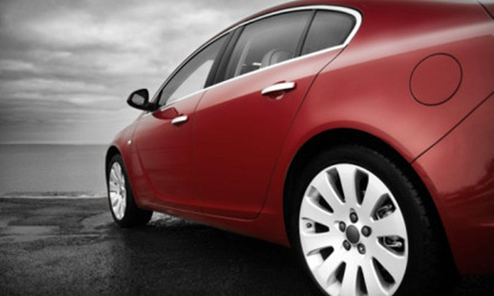 We Wash - Hand Car Wash & Detail Center - Multiple Locations: $80 for Complete Auto Detail at We Wash – Hand Car Wash & Detail Center ($165 Value)