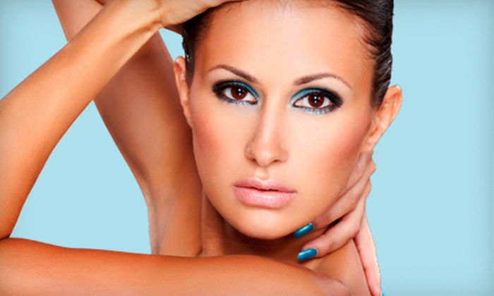 Le Nail Chic - Shermerville: Two Manicures or a Custom Airbrush Tan at Le Nail Chic in Northbrook (Up to 53% Off)