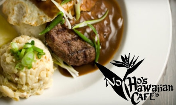 Noho's Hawaiian Cafe - Hosford - Abernethy: $10 for $20 Worth of Authentic Island Eats and Drinks at Noho's Hawaiian Cafe