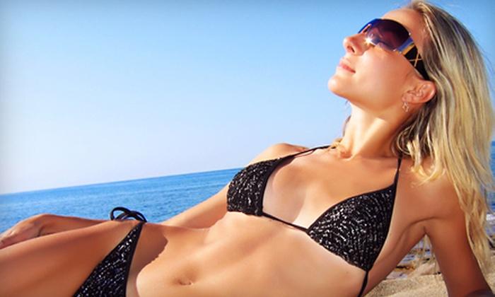 Mayan Sun Salons - Victoria: Sunless Spray Tan or UV-Tanning Package at Mayan Sun Salons
