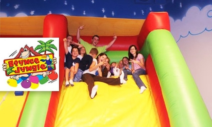 Bounce Jungle - William Lyon Homes At Cooley Station: $15 for a Five-Session Pass to Bounce Jungle ($34 Value)