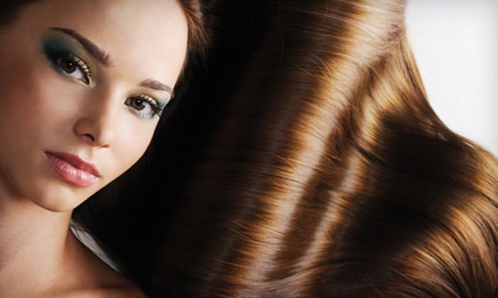 Hair on 5th Avenue - Downtown Scottsdale: $140 for an All-Natural Brazilian Hair-Smoothing Treatment at Hair on 5th Avenue in Scottsdale ($350 Value)