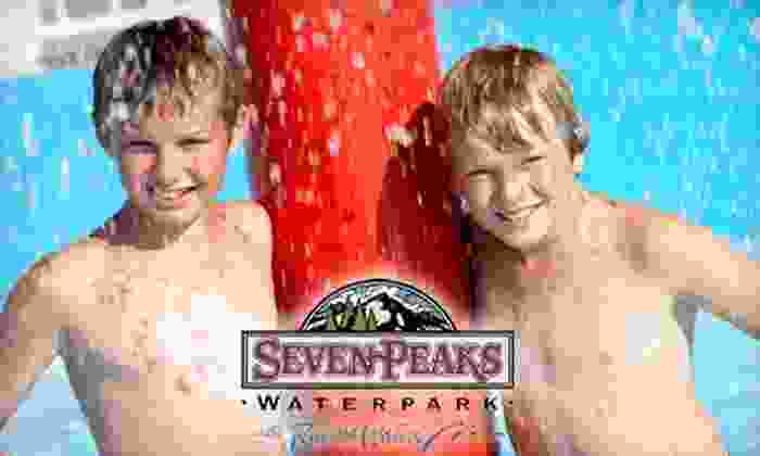 Seven Peaks Water Park - Multiple Locations: $39 for a Salt Lake County Pass of All Passes Including Year-Long Admission to Seven Peaks Salt Lake, Tickets for Three Local Sports Teams, Racing & More (Up to $327.95 Value)