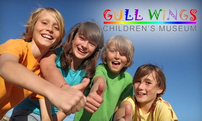 Gull Wings Children's Museum - Downtown Oxnard: $30 for One-Year Family Membership to Gull Wings Children's Museum