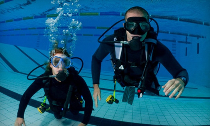 Cincinnati Diving Center - Finneytown: Scuba-Certification Package with Gear Credit or Scuba-Certification Course at Cincinnati Diving Center (51% Off)