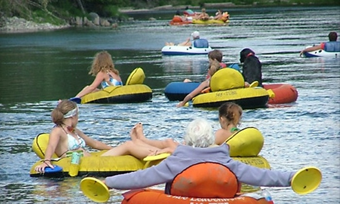 Tube Leavenworth - Leavenworth: $17 for Two Tubing Trips Down the Wenatchee River from Tube Leavenworth in Leavenworth (Up to $34 Value)