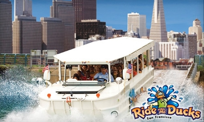 Ride The Ducks - Multiple Locations: $17 Amphibious Tour of San Francisco with Ride the Ducks