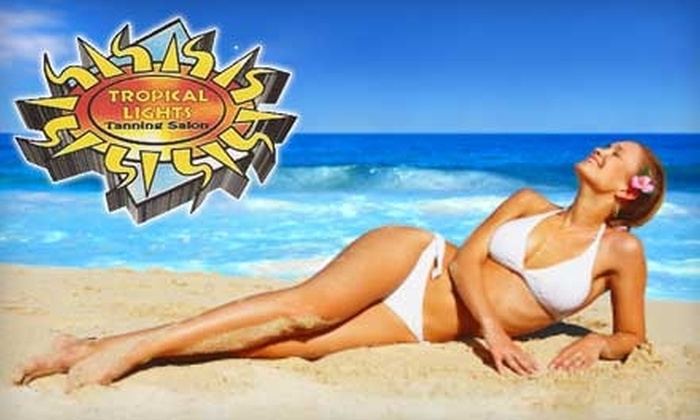Tropical Lights Tanning Salons - Multiple Locations: $20 For Two Mystic Tanning Sessions at Tropical Lights Tanning Salons (Up to $60 Value)