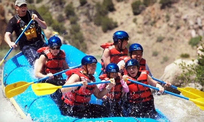Echo Canyon River Expeditions - Canon City: $45 for a Half-Day Rafting Trip through Royal Gorge Plus Wetsuit Rental from Echo Canyon River Expeditions (Up to $92.67 Value)