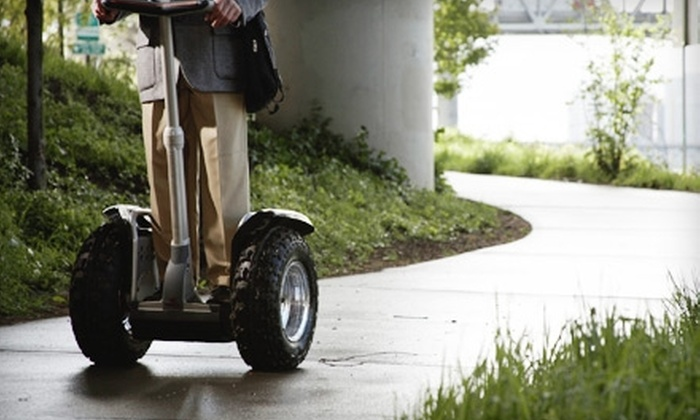 Segway of Edmonton - Riverdale: $15 for a Segway Clinic from Segway of Edmonton ($29.99 Value)