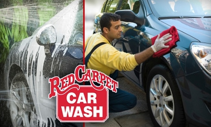 Red Carpet Car Wash - Multiple Locations: $7 for a Full-Service Car Wash at Red Carpet Car Wash