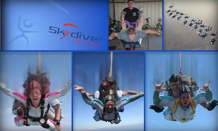 Skydive Carolina - Chester: $124 for One Tandem Jump with an Instructor at Skydive! Carolina (Up to a $209 Value)