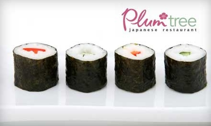 Plum Tree Japanese Restaurant - New Canaan: $20 for $40 Worth of Japanese Fare and Drinks at Plum Tree Japanese Restaurant
