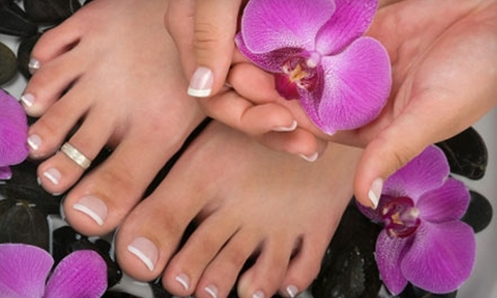 Nails By Josie - Northeast Raleigh: $30 for a Full Spa Mani-Pedi at Nails By Josie ($60 Value)