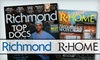 """""""Richmond"""" Magazine: $14 for a Two-Year Holiday Gift Subscription to """"Richmond"""" and """"R-Home"""" Magazines"""