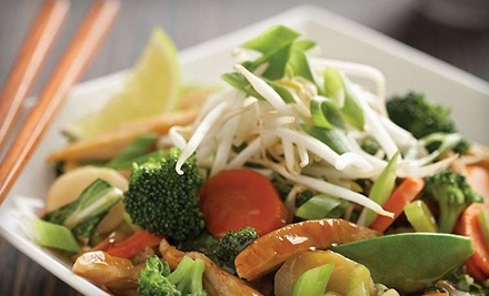 Two Stir-Fry Rice or Noodle Packages for Lunch (up to an $18 value) - Wok Box Fresh Asian Kitchen  in Calgary