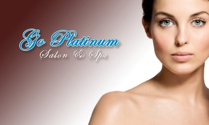 Go Platinum Salon and Medspa - Peabody: Spa Services at Go Platinum Salon and Medspa in Peabody. Three Options Available.