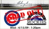 Outfield Gallery Rooftop (formerly Skybox on Sheffield) - Lakeview: Rooftop Tickets - Cubs vs Rockies - $59