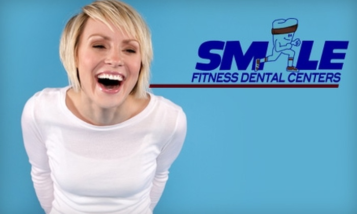Smile Fitness Dental Centers - Multiple Locations: $12 for an Exam, X-rays, and Simple Teeth Cleaning at Smile Fitness Dental Centers ($139 Value)