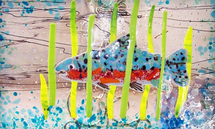Mor Art - Lincoln City: $40 for Daylong Fused-Glass Workshop at Mor Art in Lincoln City ($95 Value)