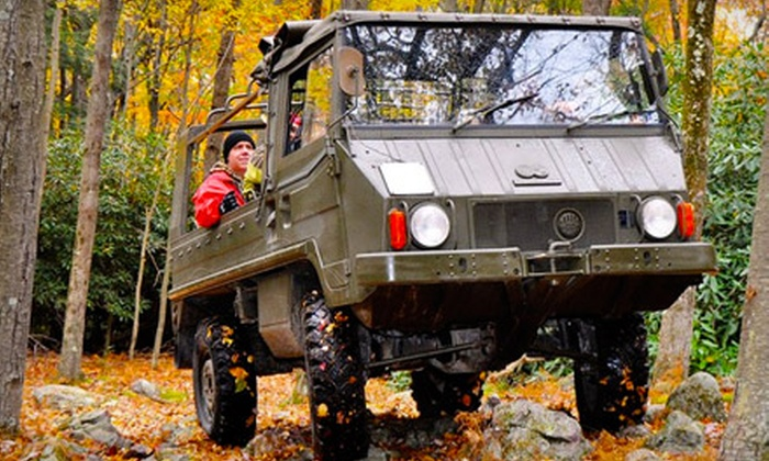All-Terrain Pinzgauer Tours - Jim Thorpe: $73 for Two Seats on an All-Terrain Scenic Pinzgauer Tour in Jim Thorpe (Up to $139.90 Value)