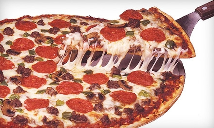 Beggars Pizza - Multiple Locations: $10 for $20 Worth of Pizza and Italian-American Cuisine at Beggars Pizza. Fifteen Locations Available.