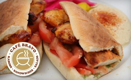 $20 Groupon to Cafe Bravo - Cafe Bravo in Glendale