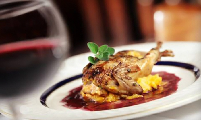 Carnegie's - Indianapolis: $25 for $50 Worth of Seasonal, Italian-Inspired Cuisine and Drinks for Dinner at Carnegie's in Greenfield