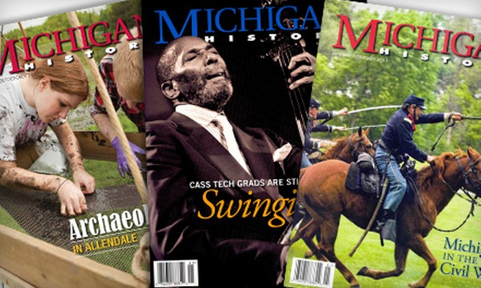 """Michigan History"" Magazine - Southside: $9 for a One-Year Subscription (Six Issues) to ""Michigan History"" Magazine ($19.95 Value)"
