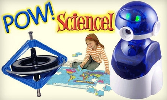 Pow! Science! - Multiple Locations: $12 for $25 Worth of Creative Toys and Games at Pow! Science!