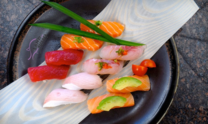 Land of Sushi - Centennial: $7 for $15 Worth of Authentic Japanese Cuisine at Land of Sushi in Centennial