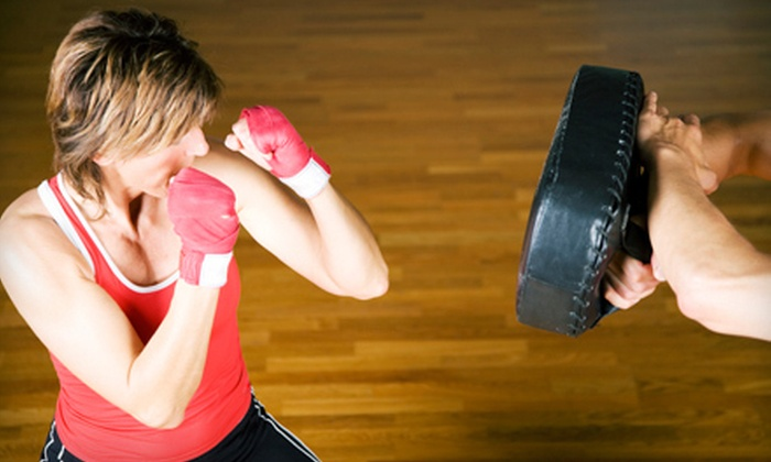 Columbia Boxing and Fitness - Ellicott City: 10, 20, or 30 Drop-In Circuit-Training Classes at Columbia Boxing and Fitness (Up to 77% Off)
