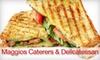 Maggio's Delicatessen & Catering - Broadmoor/Sherwood: $6 for $12 Worth of Casual Italian Fare at Maggio's Delicatessen & Catering