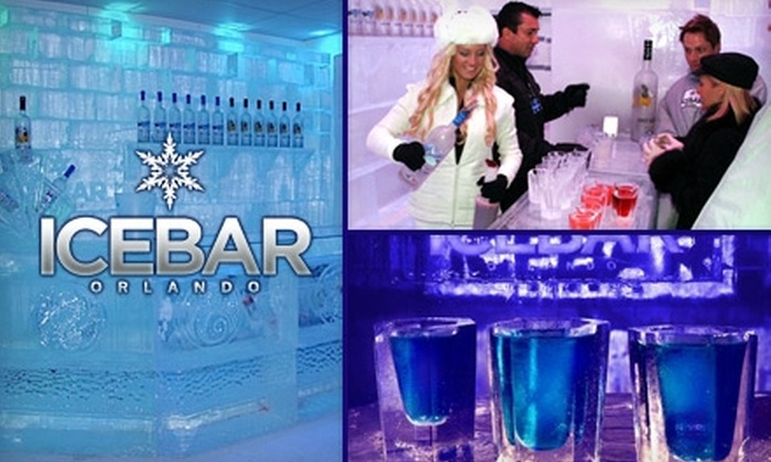 ICEBAR Orlando and Fire Lounge - Southwest Orange: $9 for Admission to ICEBAR Orlando and Fire Lounge and a Drink Refill