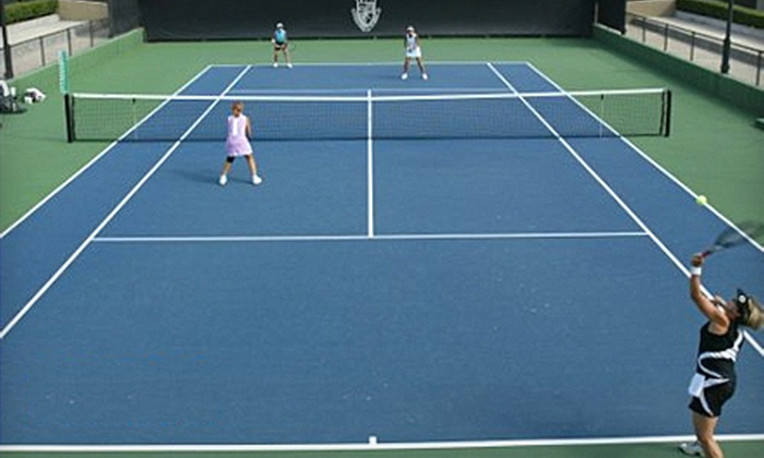 Spearman Clubs - Multiple Locations: $35 for 10 Learn to Play Tennis or Fitness Classes from Spearman Clubs (Up to $150 Value)