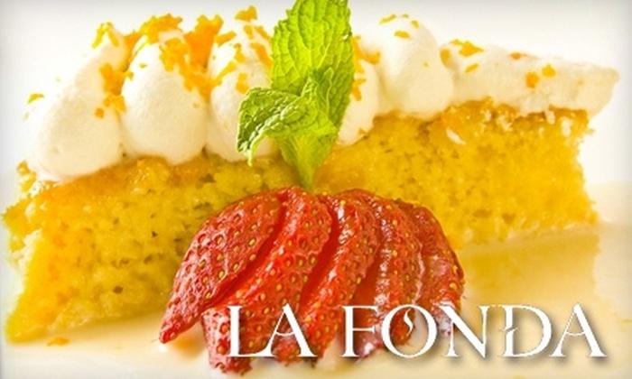 La Fonda on Wilshire - Westlake: $20 for $40 Worth of Mexican Cuisine at La Fonda on Wilshire (Or $20 for $50 When Redeemed Sunday–Thursday)