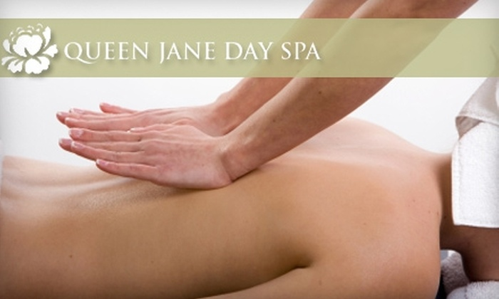 Queen Jane Day Spa - Multiple Locations: 70-Minute Massage Services at Queen Jane Day Spa. Choose Between Two Options.