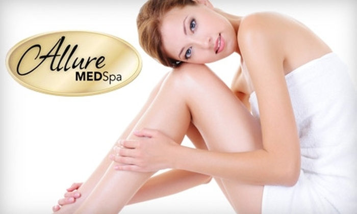 Allure MedSpa - Courthouse Square At Stafford: $185 for Six Laser Hair-Removal Treatments at Allure MedSpa in Stafford (Up to $1,320 Value)