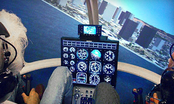 Blue Hill Helicopters - Norwood: $75 for a 45- to 60-Minute Flight-Simulator Experience at Blue Hill Helicopters in Norwood ($150 Value)