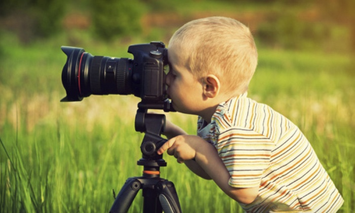 Fotoscool - St. Albert: $69 for a 3.5-Hour Kids' Camera Workshop for Ages 10 and Older from Fotoscool ($175 Value)