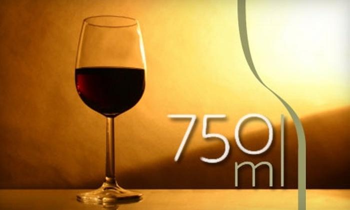 750ml Wine Lounge - Downtown: $20 for $40 at 750ml Wine Lounge in San Mateo