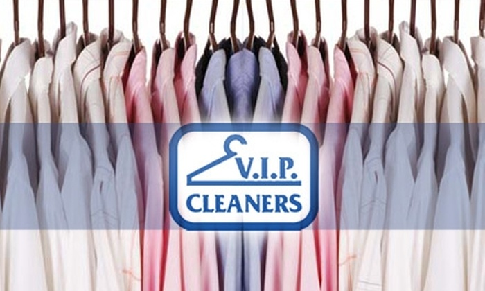 VIP Cleaners - Multiple Locations: $15 for $30 Worth of Dry Cleaning from VIP Cleaners
