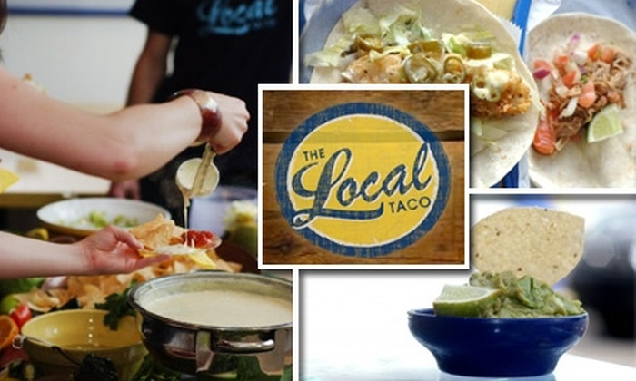 The Local Taco - Sylvan Park: $15 for $30 Worth of Casual Mexican Fare and Drinks at The Local Taco