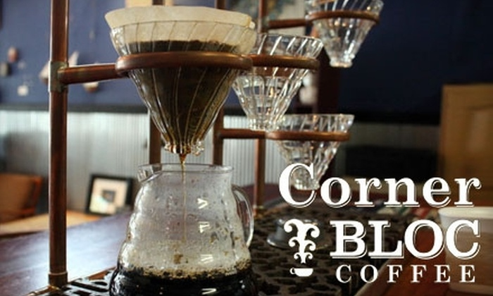 Corner BLOC Coffee - East Price Hill: $4 for $8 Worth of Coffee and Casual Cuisine at Corner BLOC Coffee in Price Hill