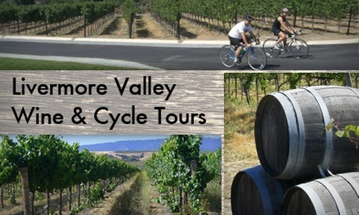 Livermore Valley Wine and Cycle Tours - Livermore: $65 for a Winery Bike Tour, Gourmet Lunch, and Tastings from Livermore Valley Wine and Cycle Tours ($128 Value)