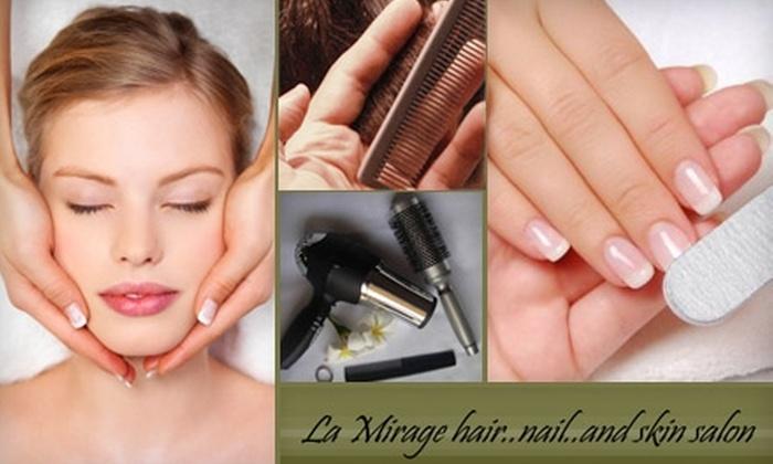 La Mirage Hair, Nail, and Skin Salon - East Arlington: $50 for $100 Worth of Services at La Mirage Hair, Nail, and Skin Salon in East Arlington
